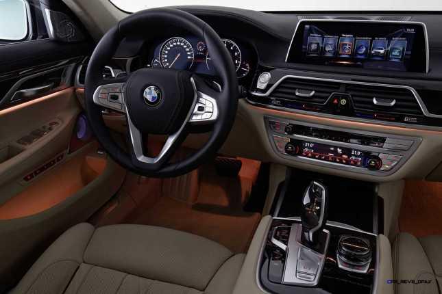 2016 BMW 750Li Interior 58