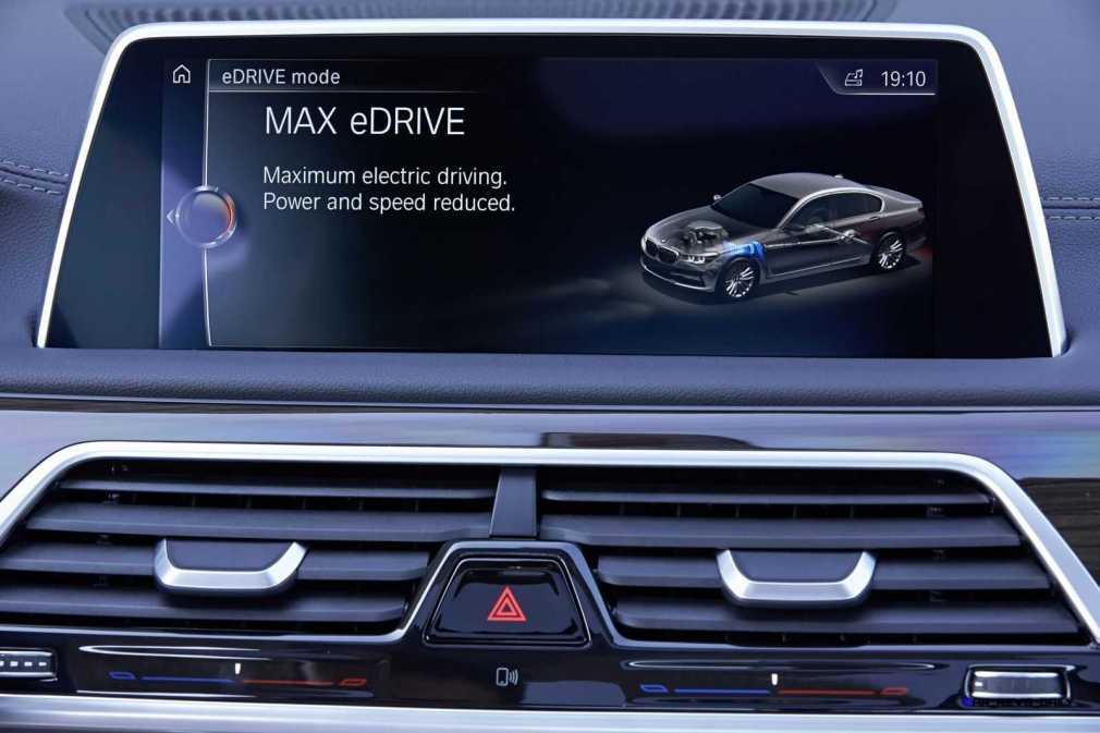 2016 BMW 750Li Interior 7