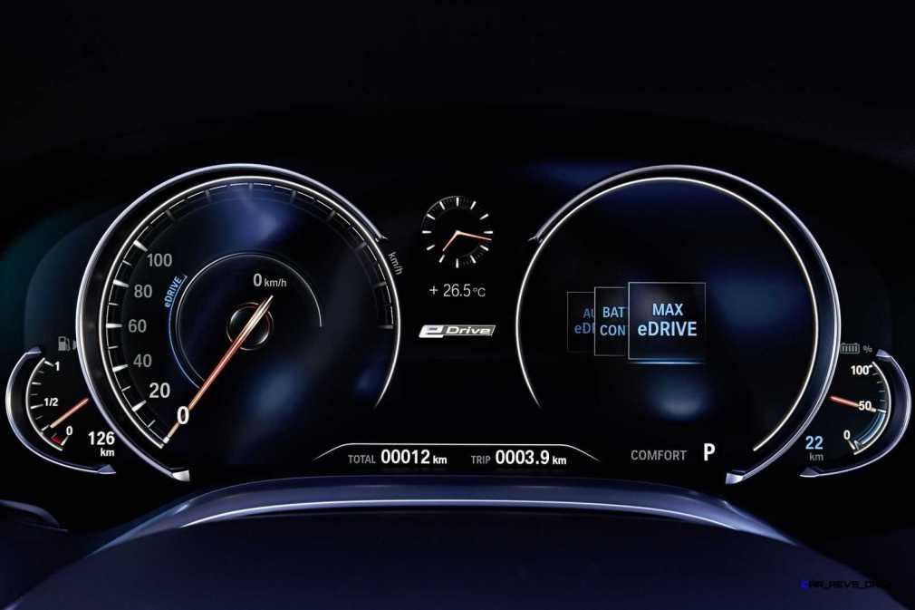 2016 BMW 750Li Interior 8