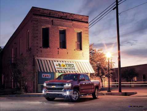 2016 Chevrolet Silverado 1500 LT at Restaurant