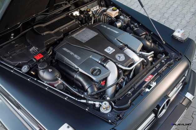 2016 Mercedes-Benz G-Class G500 G63 13