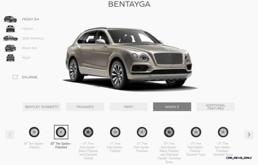 2017 Bentley BENTAYGA Wheels 2