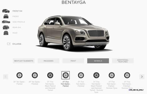 2017 Bentley BENTAYGA Wheels 4