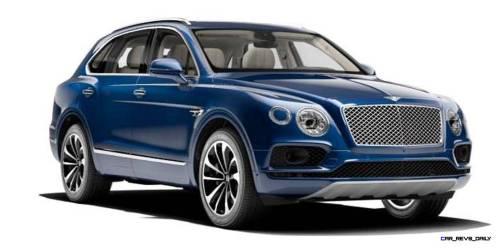 2017 Bentley Bentayga BENTLEY SUGGESTS COLORS 1