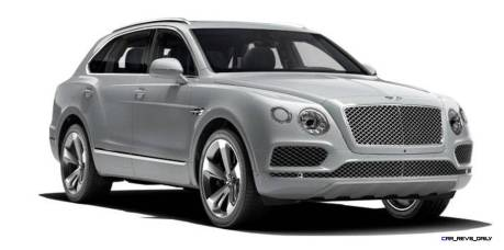 2017 Bentley Bentayga BENTLEY SUGGESTS COLORS 6