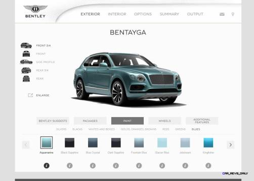 Bentayga Color Samples 11