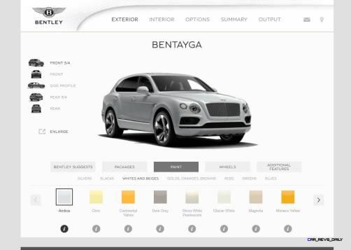 Bentayga Color Samples 27