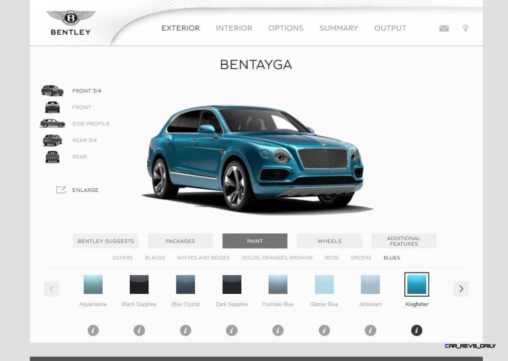Bentayga Color Samples 29