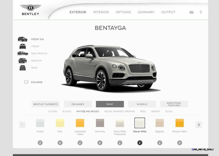 Bentayga Color Samples 7