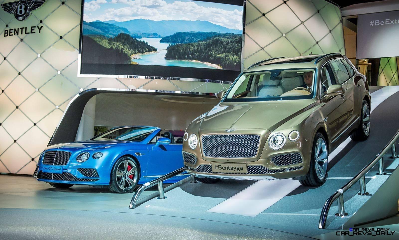 Bentley at Frankfurt motor showPhoto: James Lipman
