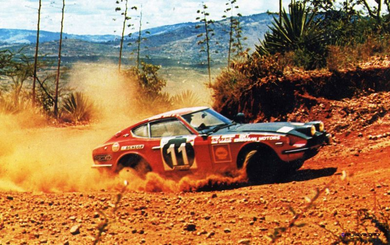 Nissan Restoration Club to Restore the Legendary Safari Rally Z