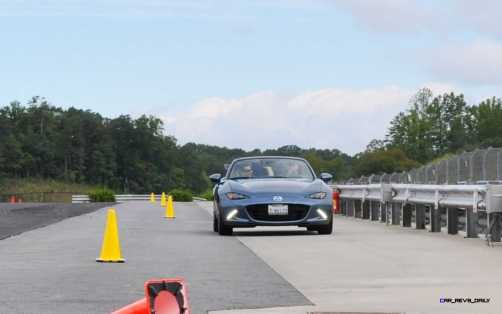 HD First Track Drive Review - 2016 Mazda MX-5 50
