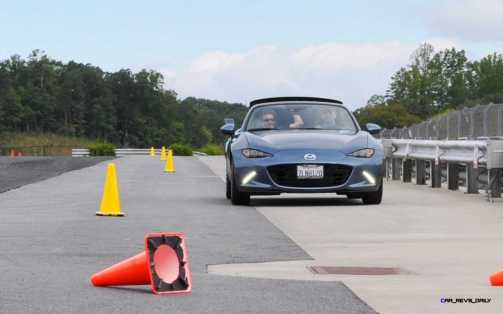HD First Track Drive Review - 2016 Mazda MX-5 54