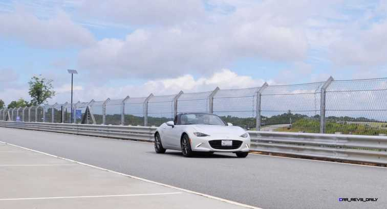 HD First Track Drive Review - 2016 Mazda MX-5 88
