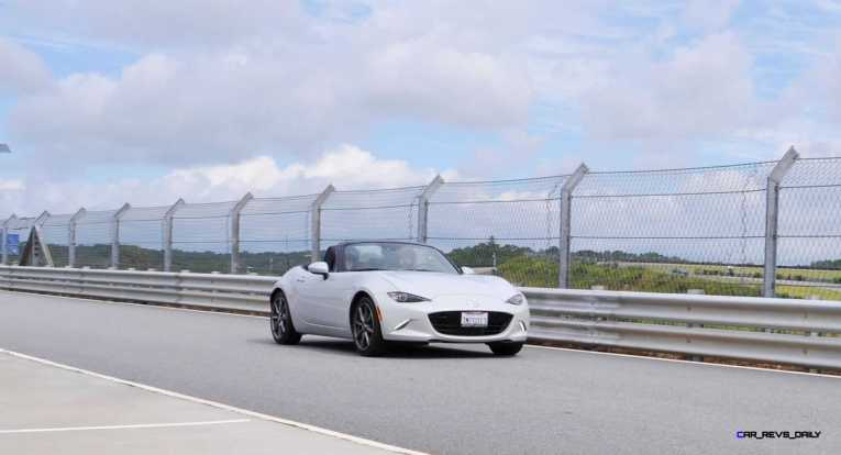 HD First Track Drive Review - 2016 Mazda MX-5 89