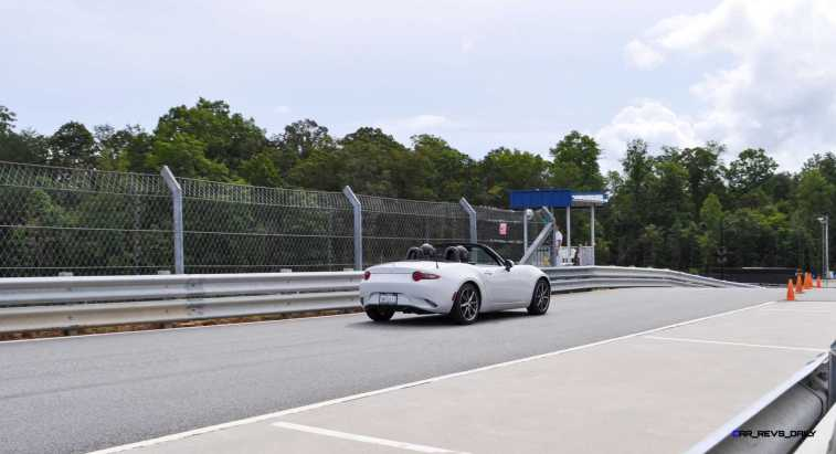 HD First Track Drive Review - 2016 Mazda MX-5 96