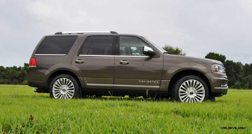 HD Road Test Review - 2015 Lincoln NAVIGATOR 4x4 Reserve 44