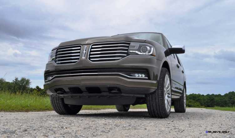 HD Road Test Review - 2015 Lincoln NAVIGATOR 4x4 Reserve 87