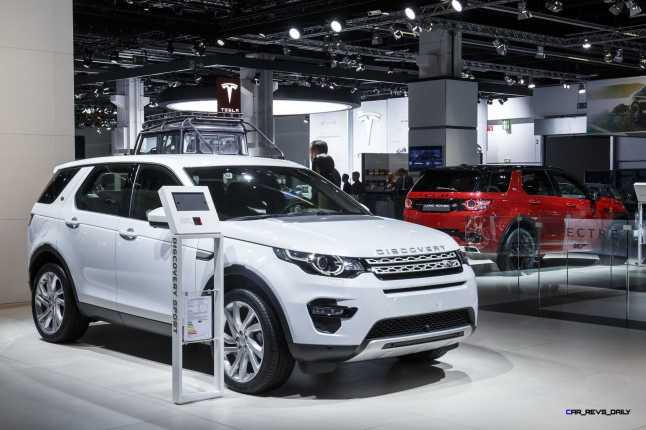 Jaguar Land Rover 2015 Frankfurt IAA Mega Gallery 95