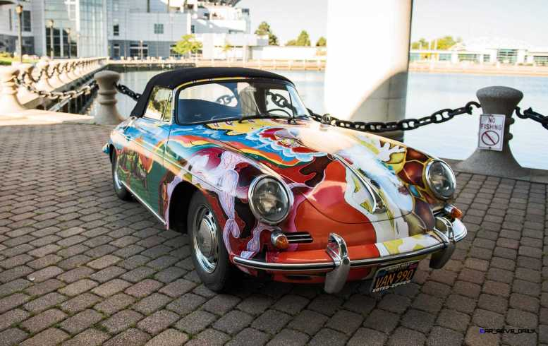 Janis Joplin 1964 Porsche 356C 1