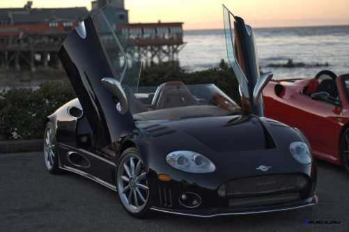 Top 20 MOST WANTED Supercars from Pebble Beach 2015 36