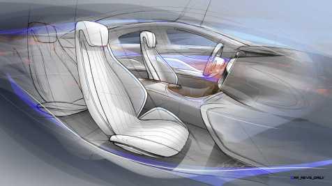 "Mercedes-Benz ""Concept IAA"" (Intelligent Aerodynamic Automobile). Design-Skizze. Design Sketch"