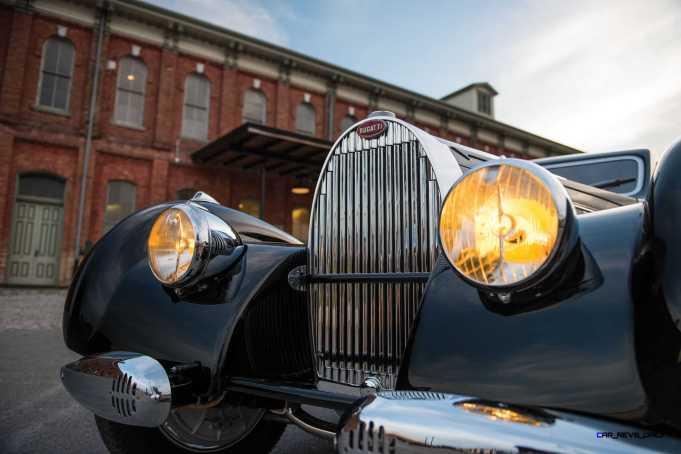 1938 Bugatti Type 57C Atalante 8