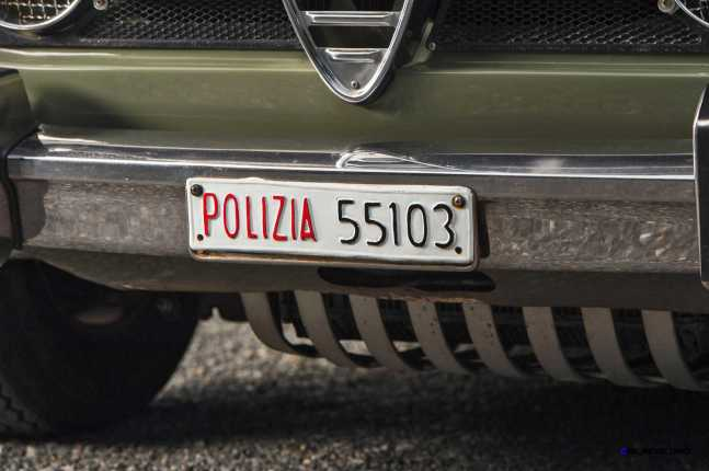 1966 Alfa Romeo Giulia Super POLIZIA SQUADRA VOLANTE 21