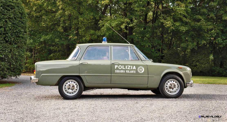 1966 Alfa Romeo Giulia Super POLIZIA SQUADRA VOLANTE 5