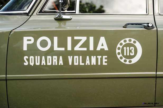 1966 Alfa Romeo Giulia Super POLIZIA SQUADRA VOLANTE 9