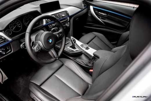 2016 BMW 340i M Sport INTERIOR 12