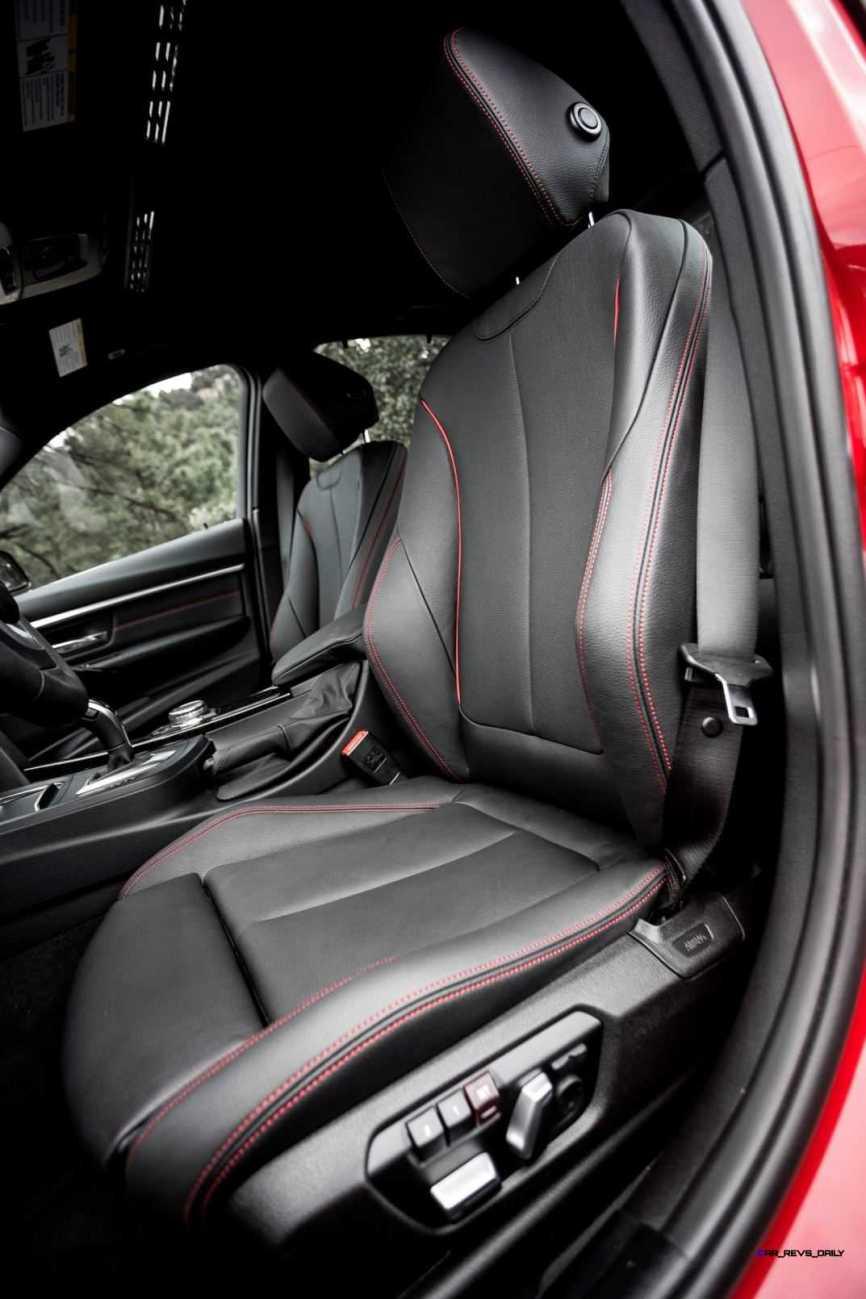 2016 BMW 340i M Sport INTERIOR 2