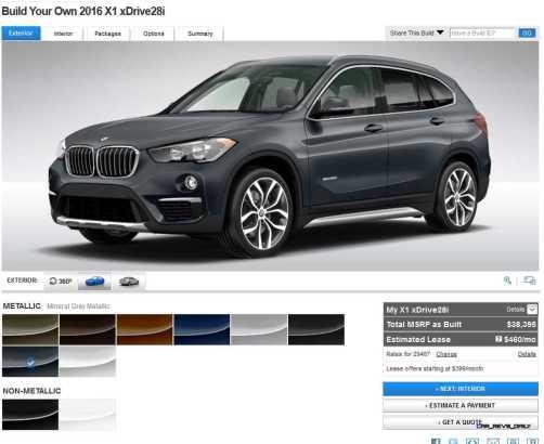 2016 BMW X1 Colors 6