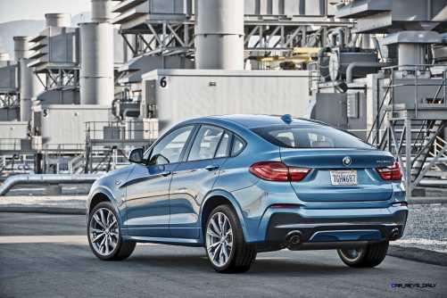 2016 BMW X4 M40i 45