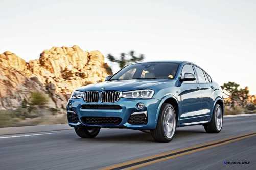 2016 BMW X4 M40i 8