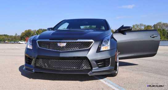 2016 Cadillac ATS-V Coupe 1
