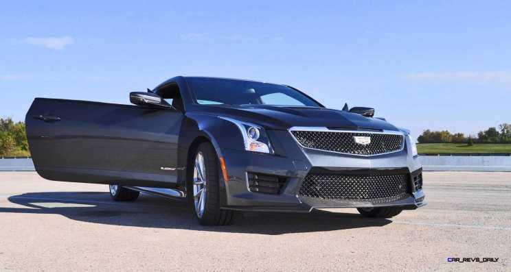 2016 Cadillac ATS-V Coupe 10