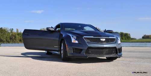 2016 Cadillac ATS-V Coupe 11