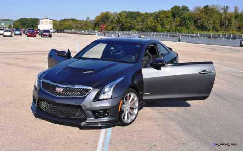 2016 Cadillac ATS-V Coupe 21