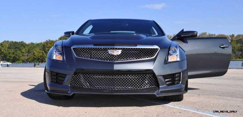 2016 Cadillac ATS-V Coupe 3