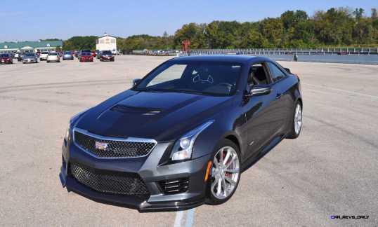 2016 Cadillac ATS-V Coupe 58