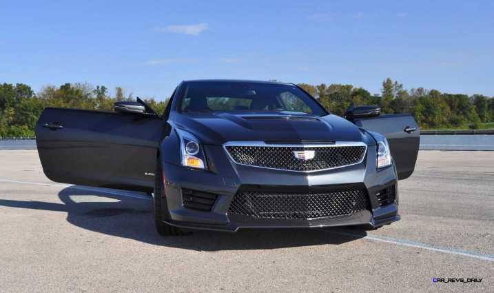 2016 Cadillac ATS-V Coupe 7