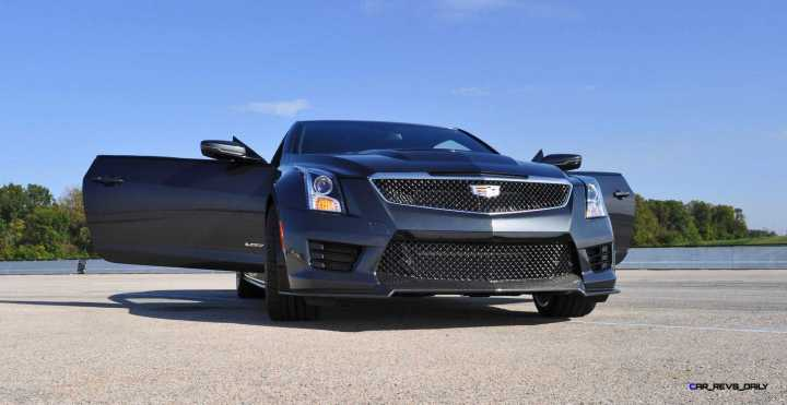 2016 Cadillac ATS-V Coupe 8