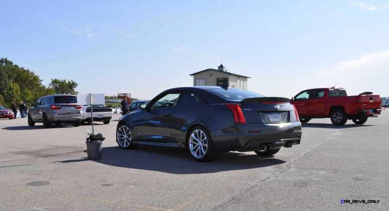 2016 Cadillac ATS-V Coupe 91