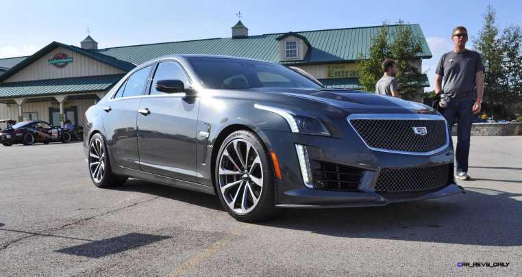 2016 Cadillac CTS-V Phantom Grey and Carbon Package 29