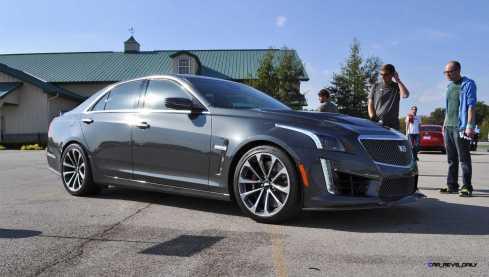 2016 Cadillac CTS-V Phantom Grey and Carbon Package 34