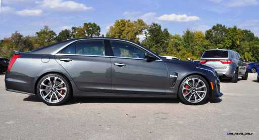 2016 Cadillac CTS-V Phantom Grey and Carbon Package 45