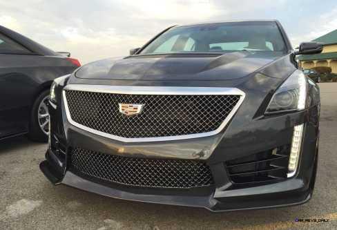 2016 Cadillac CTS-V Phantom Grey and Carbon Package 56