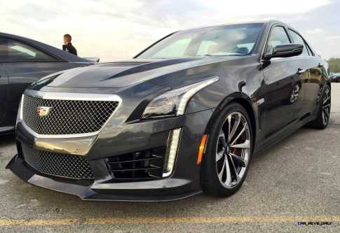 2016 Cadillac CTS-V Phantom Grey and Carbon Package 58