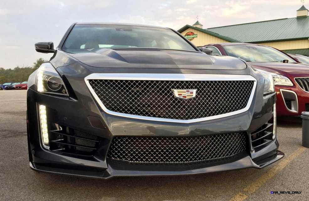 2016 Cadillac CTS-V Phantom Grey and Carbon Package 59